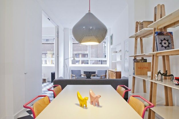 London studio transformation by Pereen d'Avoine of Russian for Fish | FUTU.PL