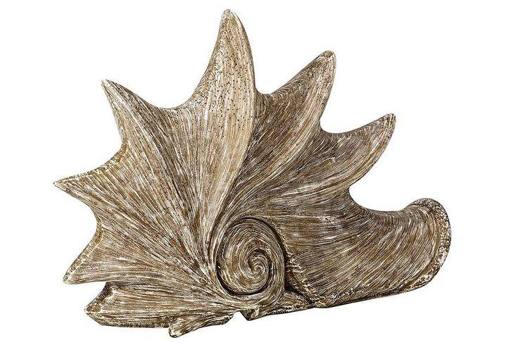 Afbeelding van Bruine Heine Deco-schelplamp