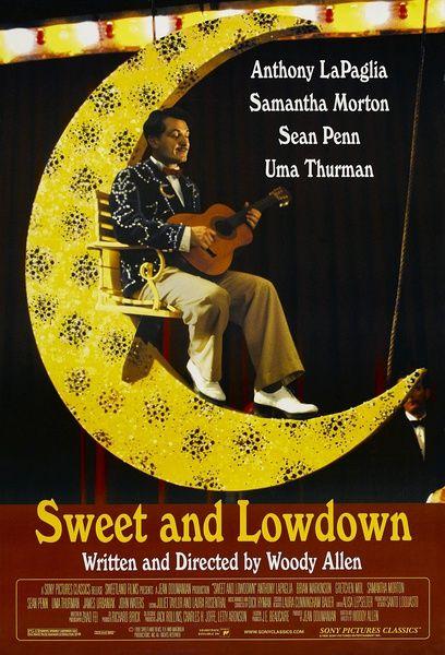 ウディ・アレン監督の映画「ギター弾きの恋」に出演した俳優ショーン・ペン。
