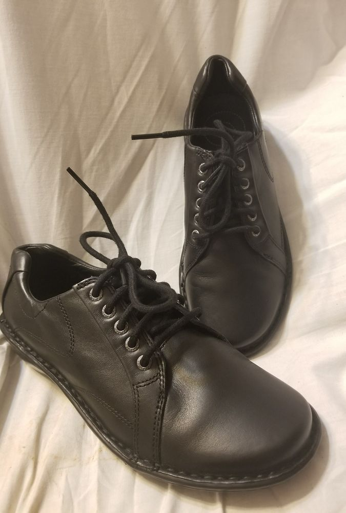 Red Wing shoes womens 6.5 B Johanna oxford black leather soft comfort lace up #RedWing #Oxfords