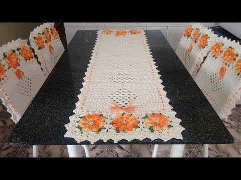 Caminho de mesa (Fácil de fazer) - com a Lourdes - YouTube