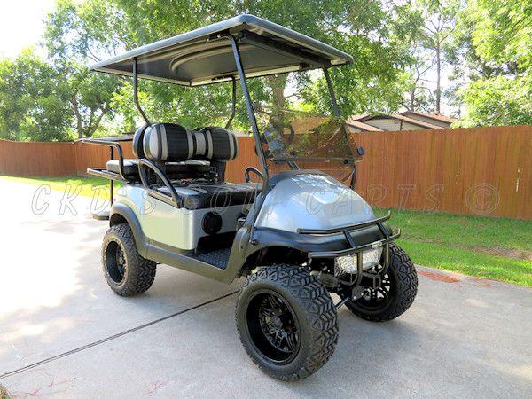 2013 custom lifted Club Car Precedent Phantom gas golf cart