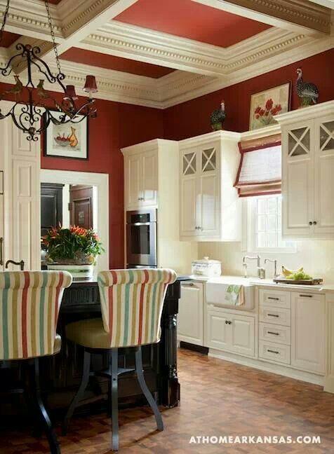 30 best Red Kitchen Walls images on Pinterest   Kitchen ...