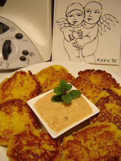 Thermomix Cauliflower & Chickpea Patties