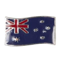 Enamel Dawg Tag Shoe Charm - Australian Flag #Shoes #Sandals #Boots
