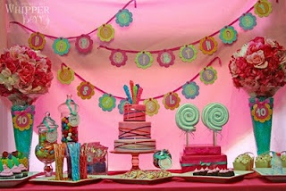 Candy, Candy, Candy   Inspiration for Candy theme  party