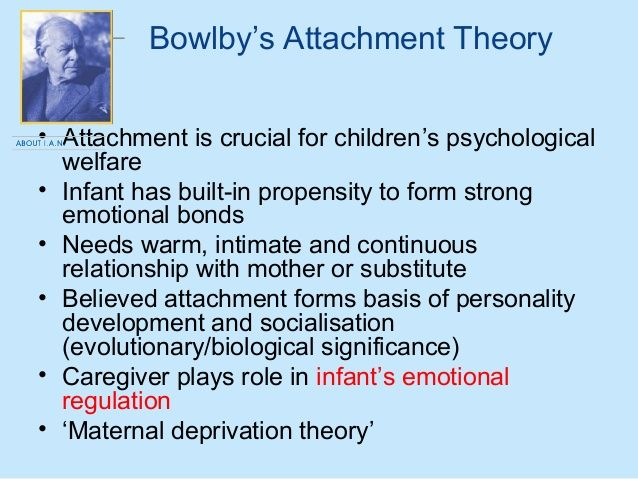 Evaluation of three attachment style theories