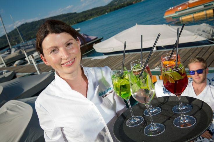 Have a cool drink.. (Hugo, Aperol, White Spritzer)