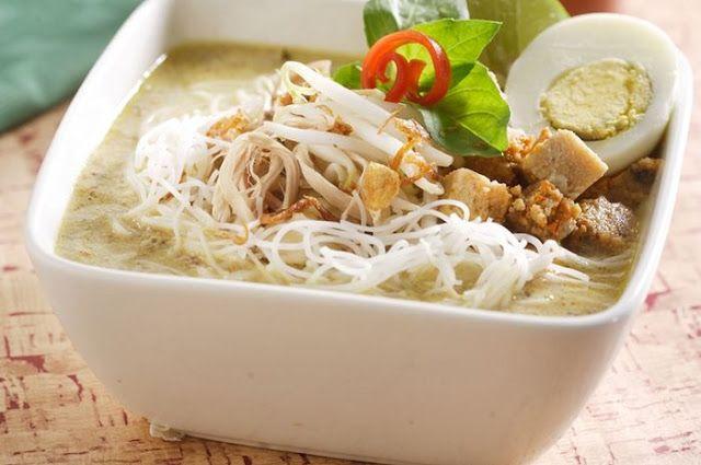 Resep Laksa Kuah Ayam Bumbu Oncom Khas Bogor Nomor Satu Makanan Resep Makanan Laksa