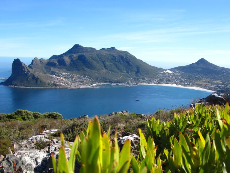 Did a gentle walk across the path at the top of Chapman's Peak. This is a view of the Sentinal, Hout Bay. #hiking #CapeTown #ChapmansPeak