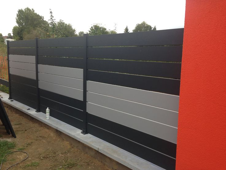interesting palissades aluminium briz claustra with palissade ideal fiberon prix. Black Bedroom Furniture Sets. Home Design Ideas