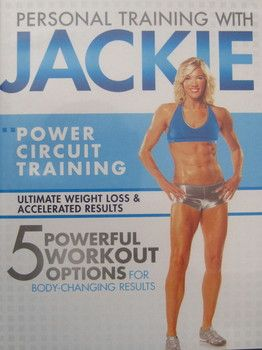 Best circuit training DVD workout is with Jackie Warner