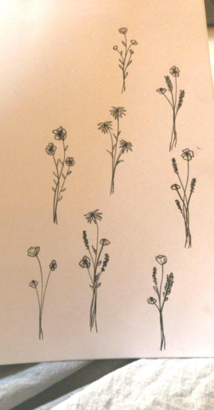 59 Ideas Tattoo Flower Small Simple Henna Designs For 2019 #flowertattoos
