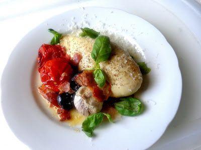 Wat ik gegeten heb: Italiaanse kipfilet uit de oven van Donna Hay