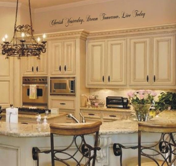 1000 images about wall stencils decals on pinterest for Kitchen cabinets lowes with wall art stencils quotes