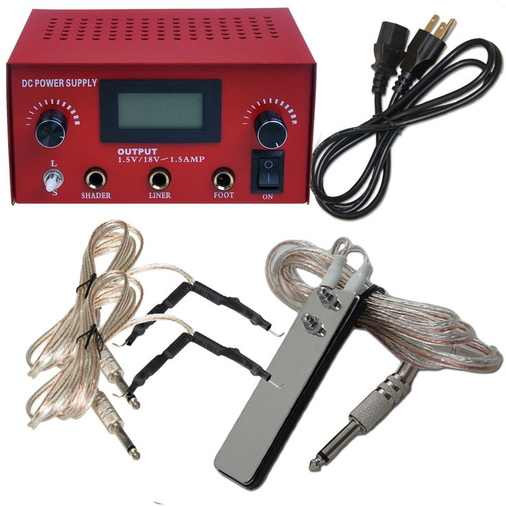 PRO Machine LCD Digital Tattoo Power Supply Clip Cord Foot Pedal [P005-1DIY(15002300air US)] - US$36.99 : Dragonhawk tattoo supplies, tattoo kits,tattoo machines for sale global form tattoodiy.com