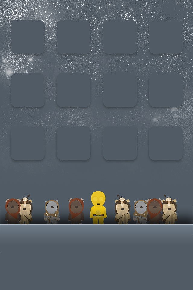 Such A Cute Star Wars IPhone Backgroundif Only I Had An