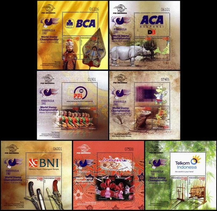 Indonesia - SS World Stamp Championship 2012