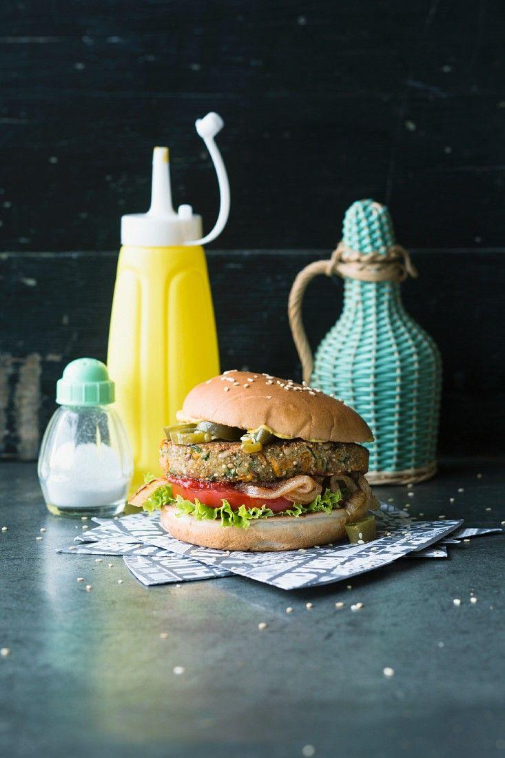 Tex-Mex-Tofuburger | Zeit: 45 Min. | http://eatsmarter.de/rezepte/tex-mex-tofuburger