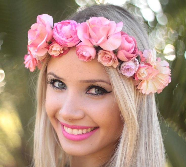 Coroa de Flores Pepita - G.Offer