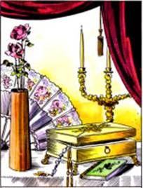Ezoterikus iskola: Cigánykártya lapjai - ajándék