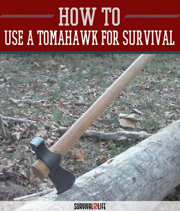 The Tomahawk as a Tool for Wilderness Survival and Camping | Best Survival Weapons For Emergency Preparedness by Survival Life at http://survivallife.com/2015/12/02/the-tomahawk-as-a-tool-for-wilderness-survival-and-camping/