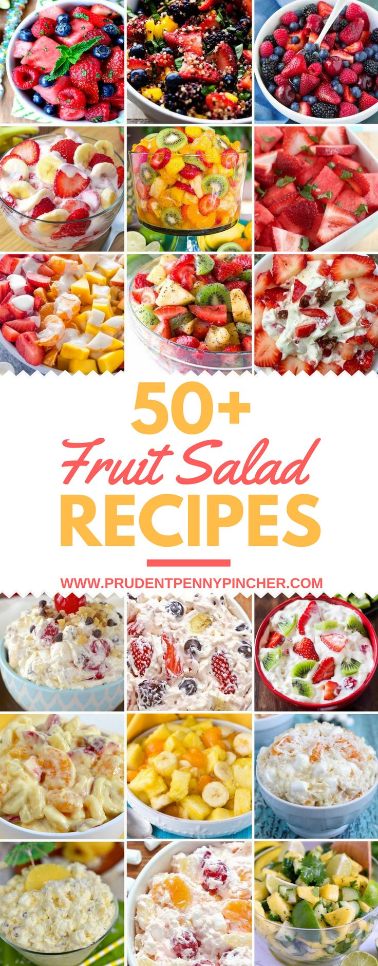 50 Best Fruit Salad Recipes