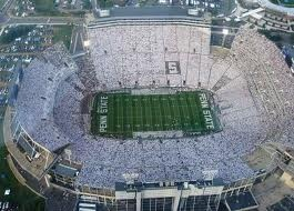 Nothing like being in Beaver Stadium for a white-out!