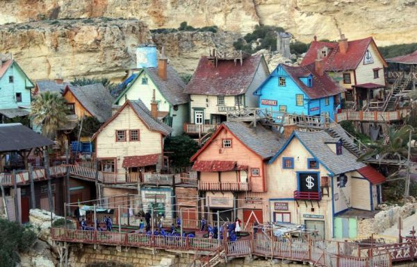 Village Set From The 1980 Popeye Movie Is Now A Fun Tourist Destination - Neatorama