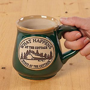 What Happens at the Cottage Stays at the Cottage Mug  $12.98
