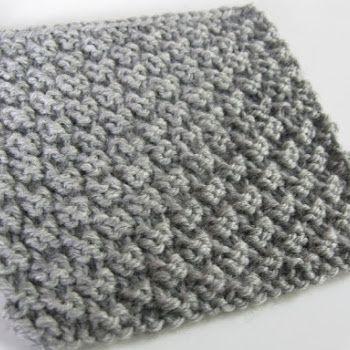Si vous êtes comme moi, vous aimez peut-être faire de petits échantillon pour  essayer de nouveaux points de tricot....