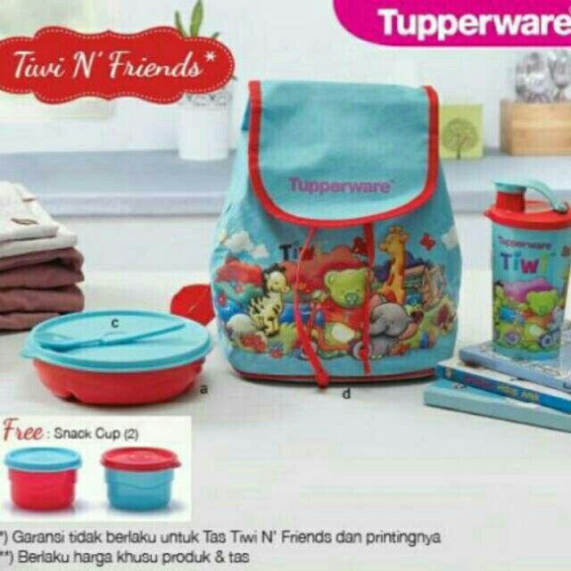 Temukan dan dapatkan Tupperware Tiwi N Friends hanya Rp 160.000 di Shopee sekarang juga! #ShopeeID