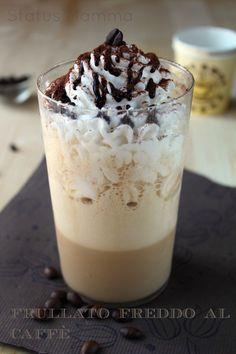 Frappuccino frullato freddo al caffè   Status mamma