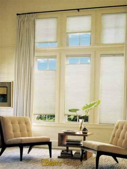 Blinds That Open From Top And Bottom Make It Easy To Fine