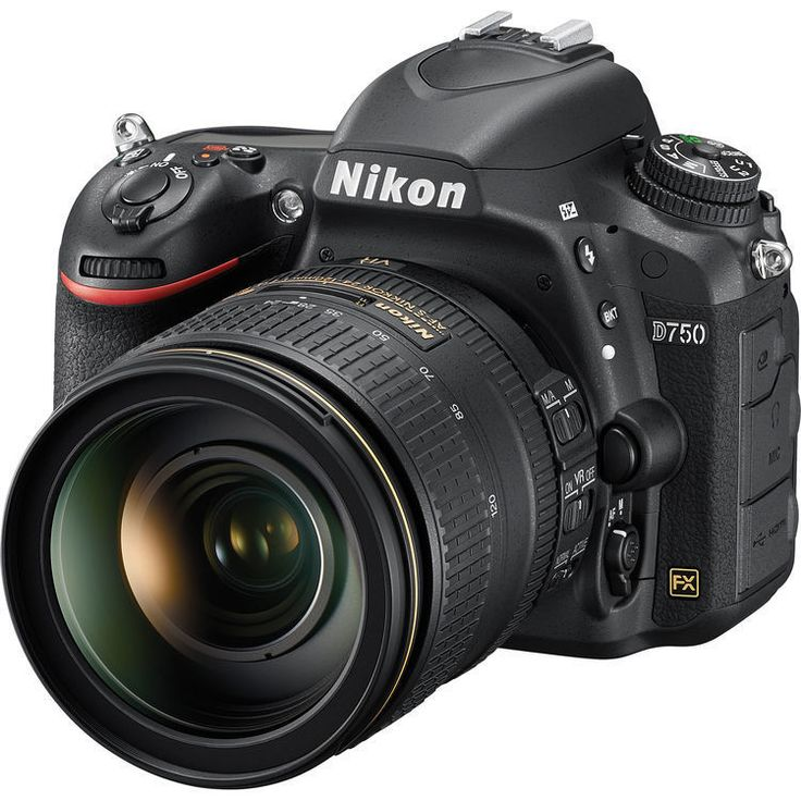 Championing a multimedia approach to photography, Nikon's D750 DSLR is an FX-format camera well-suited to both still imaging and video recording. Featuring a 24.3MP CMOS sensor, along with the EXPEED