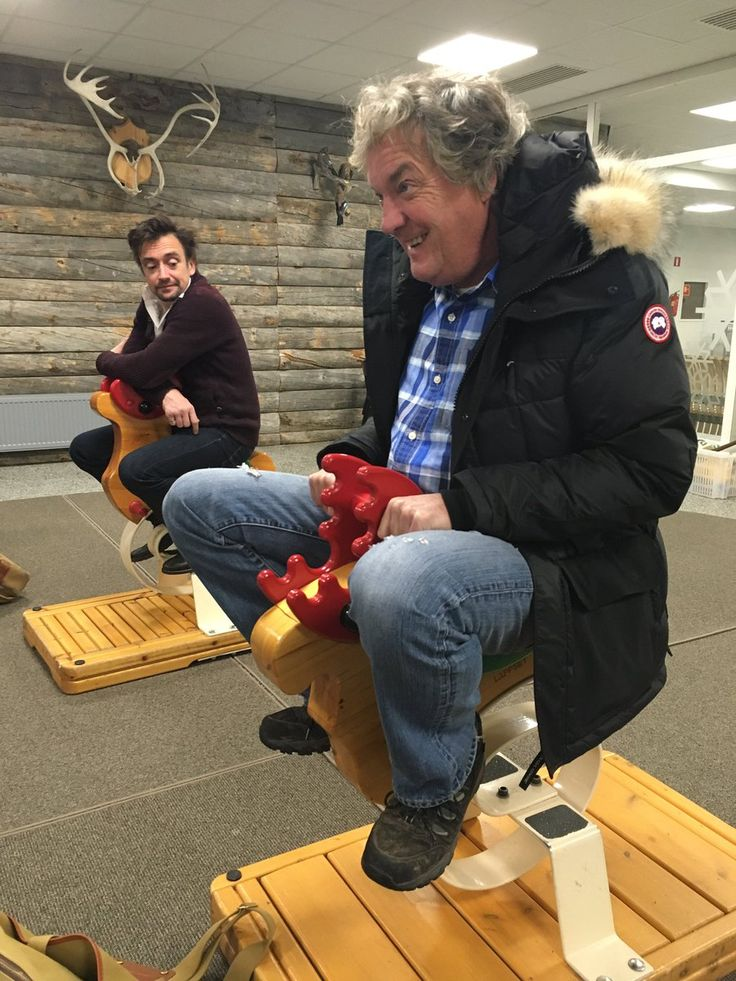 Jeremy Clarkson @JeremyClarkson : Morons. I've got morons on my team.