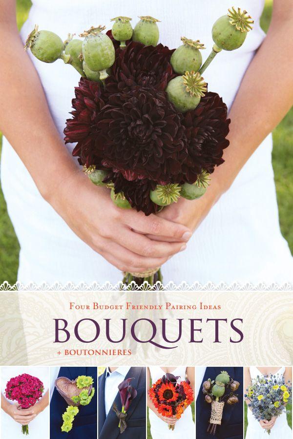 Budget Friendly Wedding Bouquet Ideas Boutonnieres Hostess Diy