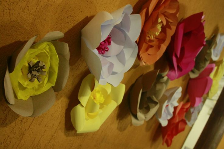 Flowers Paper! Flores de Papel