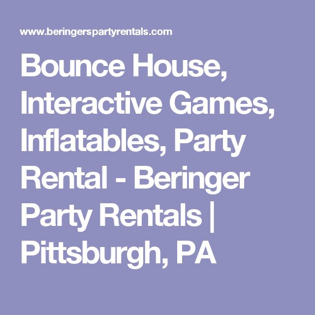 If You Are Looking For Moon Bounce Rentals In PA Or Inflatable Pittsburgh Party Rental Guyz Is The Right Place Gu