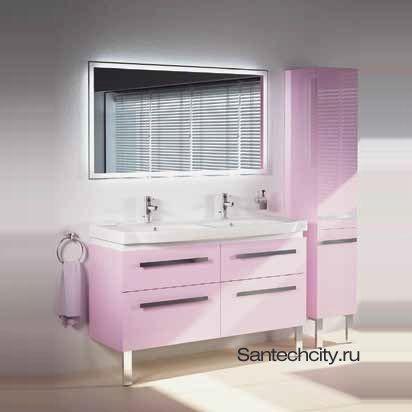 LS203 - Lusso 130. Мебель для ванной. Verona - Верона. Italy - Италия.