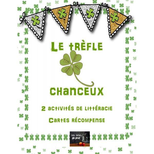 St-Patrick 3 activités en littéracie