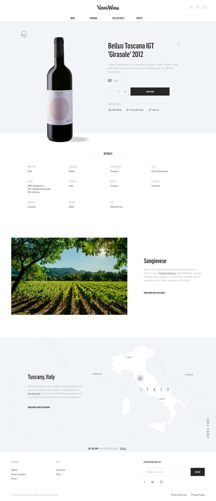 Vervewine productpage full