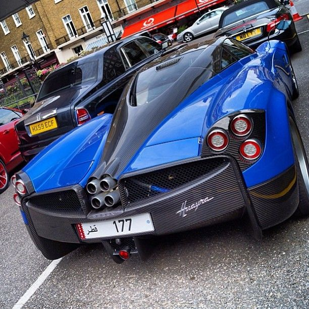 One exotic car!