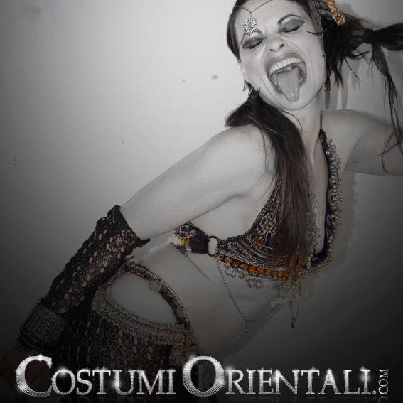 bellydance & tribal costumes info: www.costumiorientali.com (bellydancer Zaira Gipsy Dreamer)