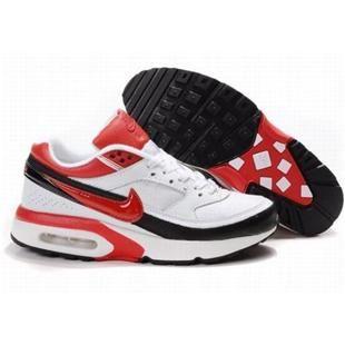 309207 012 Nike Air Classic BW SI White Red D01012
