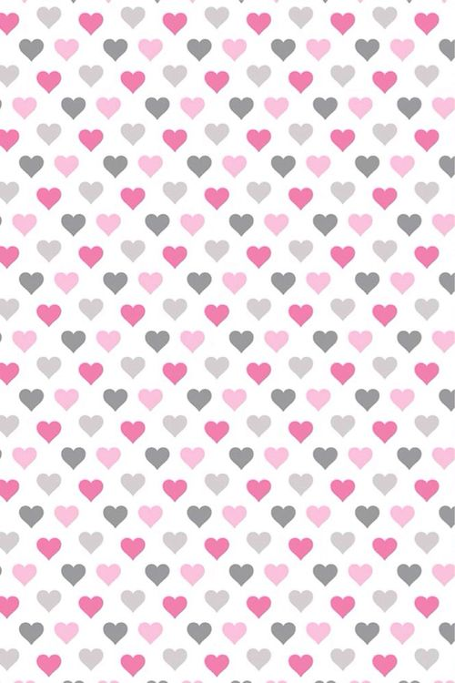 Valentine's Day hearts phone wallpaper