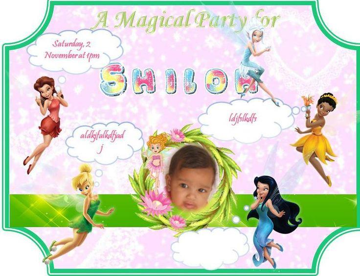 1YR Fairy Party