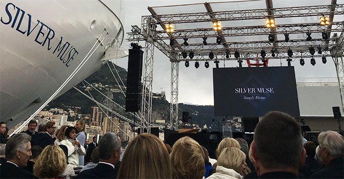 Silversea: cerimonia di battesimo a Monaco per Silver Muse | Dream Blog Cruise Magazine