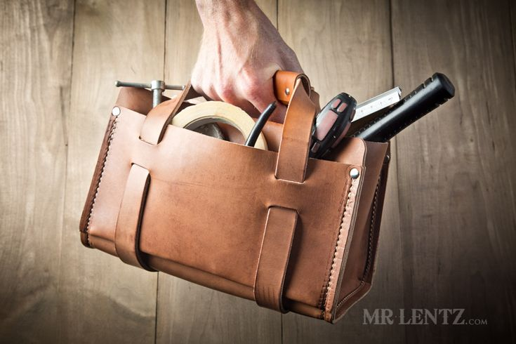 A New Leather Work Bag for Men