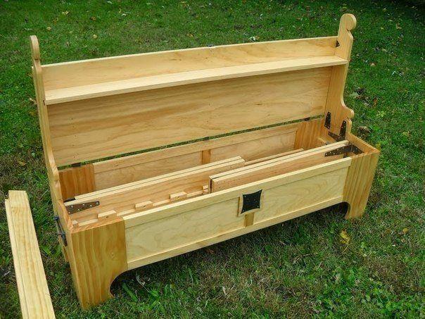 Ящик превращается... в кровать. - pro-hitechs.com